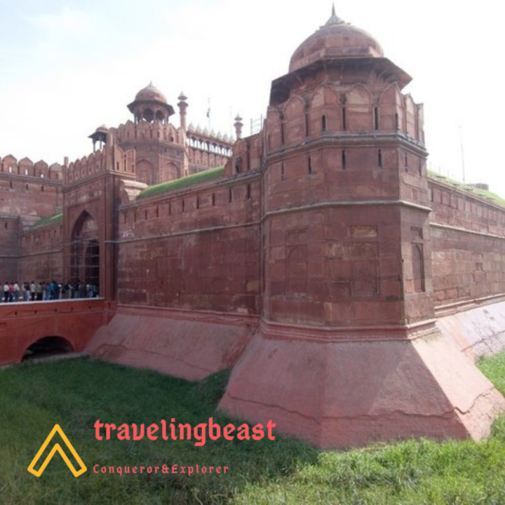 Delhi in Summers, Red Fort, Lal Quila, Historical Monument
