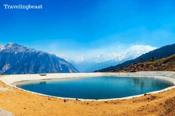 Artificial Lake, Auli, Auli in summer