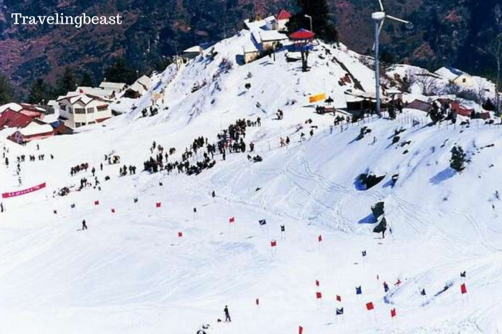 Skiing In Auli, summer