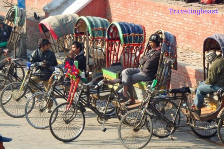 Rickshaws transport in Nepal, Travelingbeast