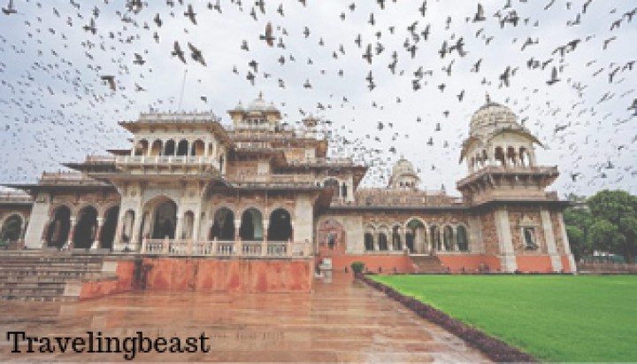 jaipur in monsoon season, travelingbeast