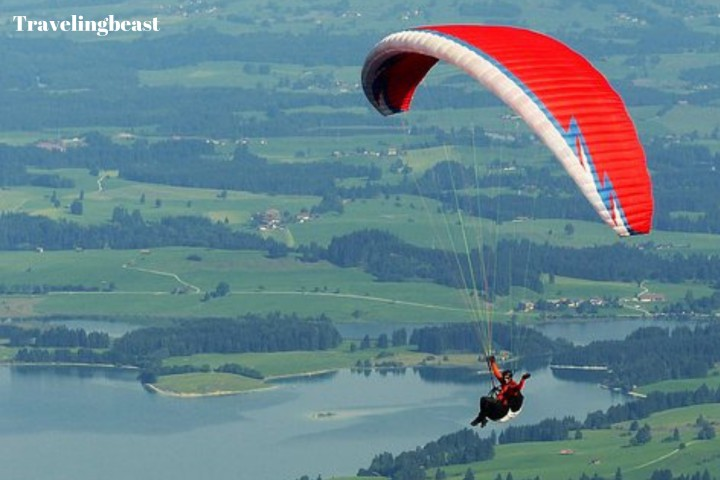Paragliding In Gangtok , Summer, Gangtok in summer