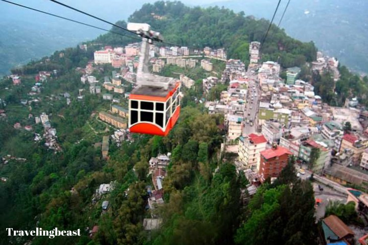 Link Ride Over Gangtok City, Summer, Travelingbeast